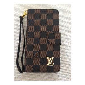 Louis Vuitton wallet phone:6,6plus/7,7plus/8,8plus